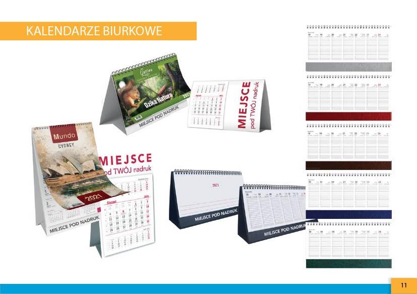 kalendarze biurkowe warszawska-drukarnia