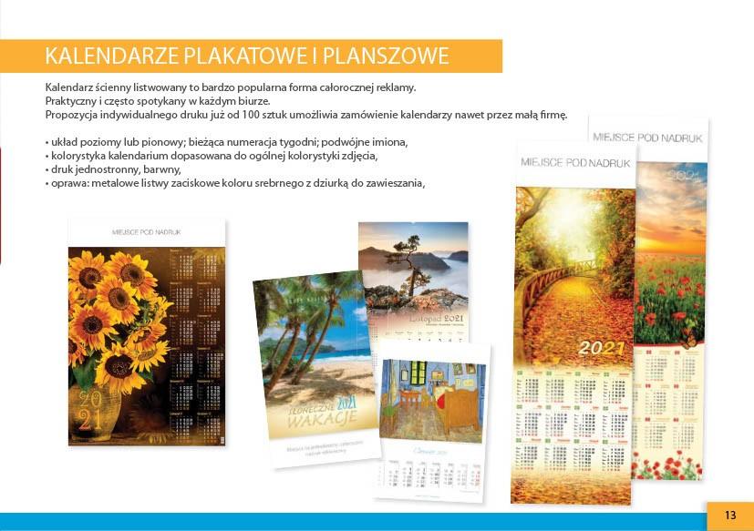 kalendarze plakatowe warszawska-drukarnia