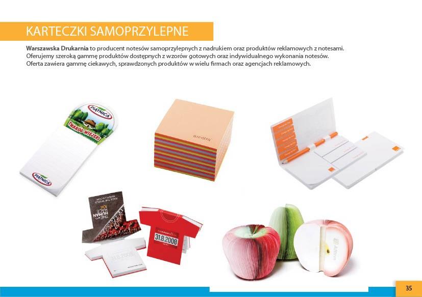 karteczki samoprzylepne warszawska-drukarnia